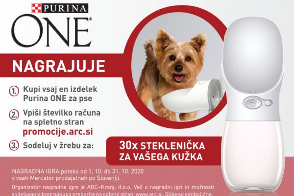 Nagradna igra - Purina ONE nagrajuje