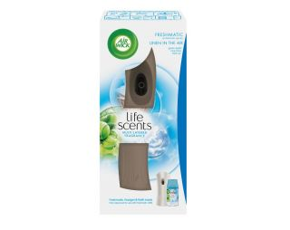 Air Wick Freshmatic komplet Linen in the Air 250ml