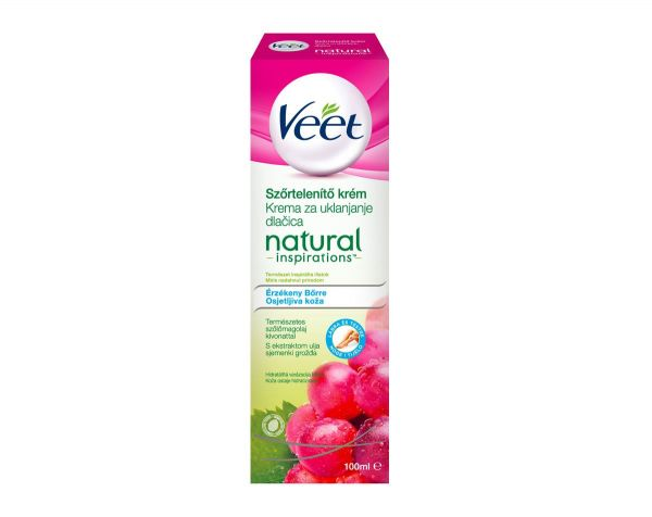 Veet depilacijska krema 100ml Sensitive Pure