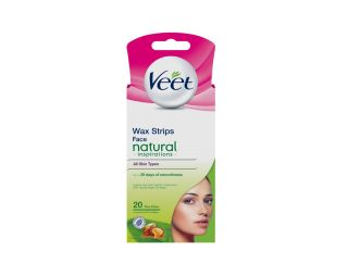 Veet depilacijski lističi 20kos Natural Argan Oil Face