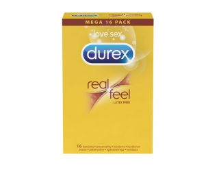 Durex kondomi 16/1 Real Feel