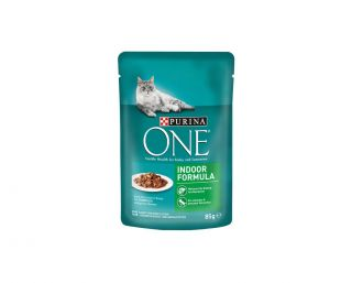 Purina One Indoor - mokra hrana za hišne mačke